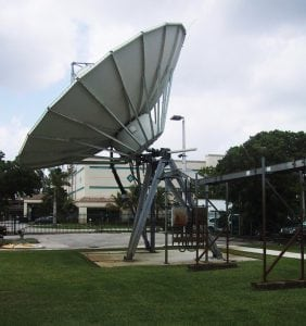 Earth Station 9M Antenna