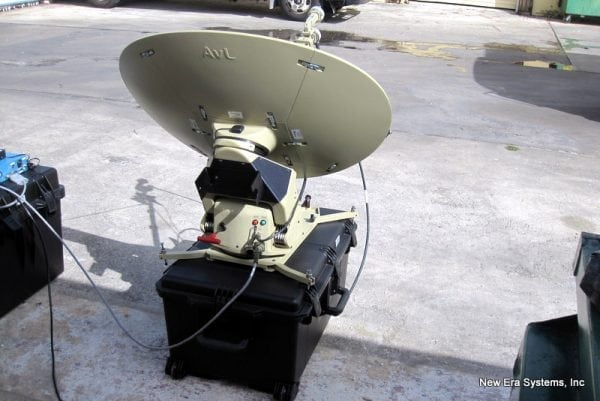 AVL .75m transportable-antenna