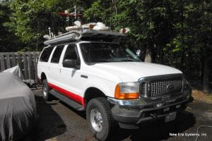 Vsat Communication Vehicle