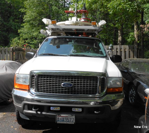 Ford Emergency Communication Vehicle