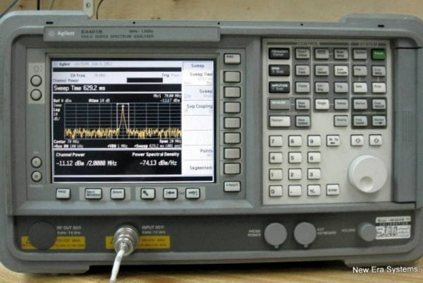 HP Spectrum Analyzer