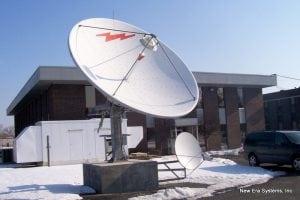 Andrew 4/6m KU-Band Antenna
