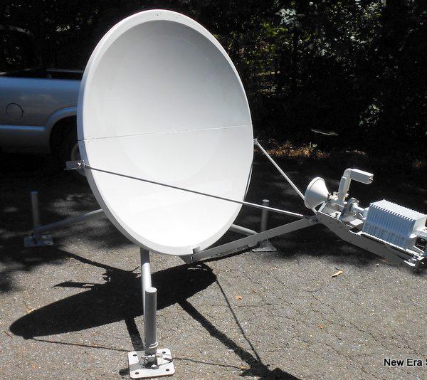 GDsatcom 1.2M Quick Deploy antenna