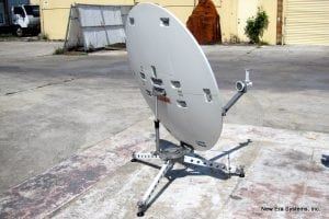 T-Gex 1.2m FlyAway Portable VSAT Systems