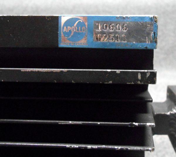 Apollo KU Band 500 Watt Dummy Load WR75 Flange Model 10606