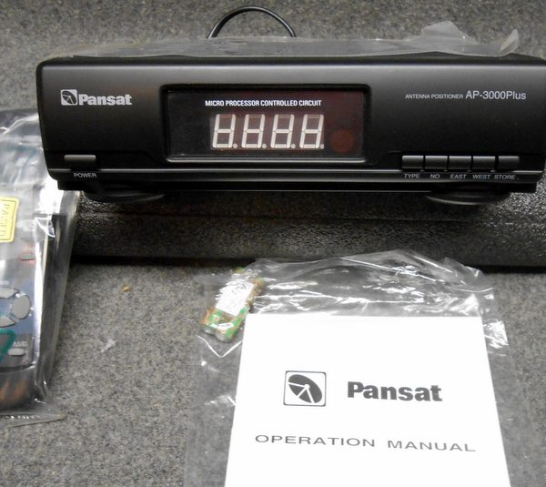 PANSAT AP-3000 ANTENNA POSITIONER