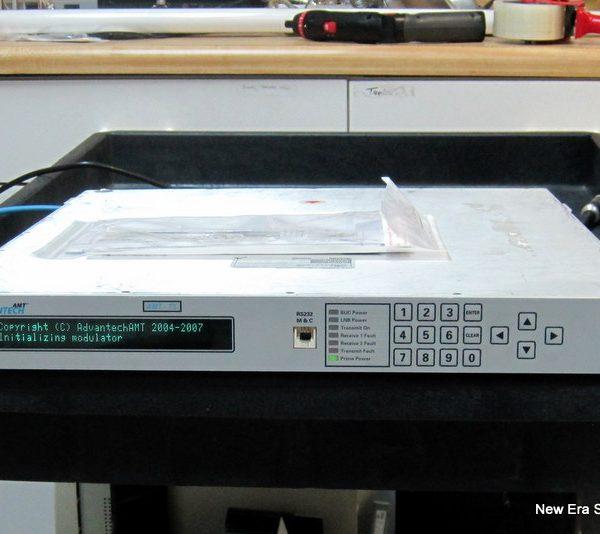 Used DVB S2 modulator