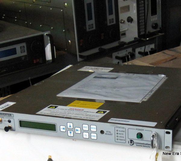 L3 DC4M2-110M C-Band Converter is a used C-Band to 70 MHz Down Converter
