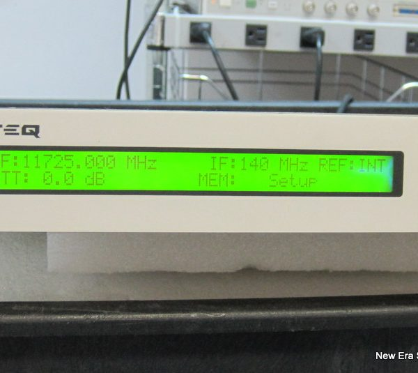 MITEQ D-9748-6 KU DOWNCONVERTER 140 MHz