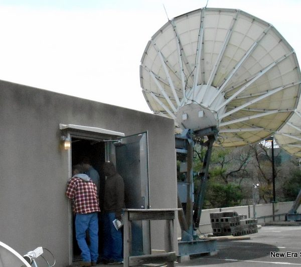Andrew 5.6M C-Band Earth Station Antenna