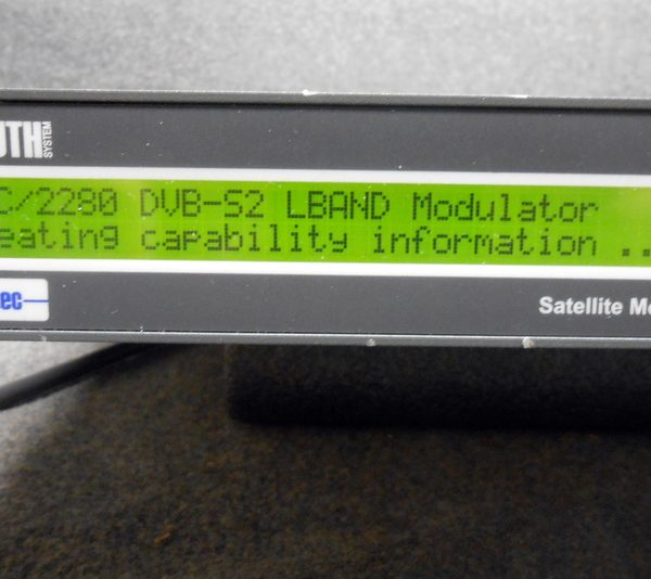 NEWTEC NTC/2280/Xf L BAND S2 MODULATOR