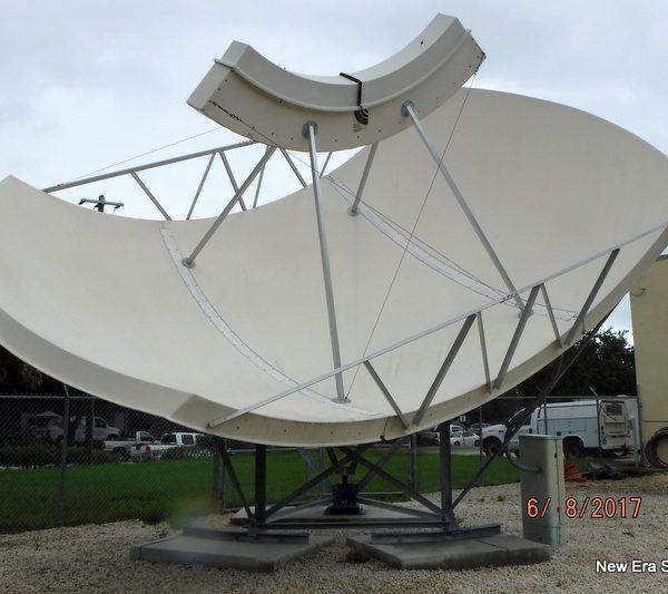 Simulsat 5 C/Ku Antenna