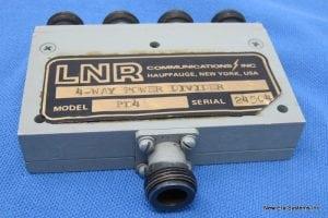 LNR PT4 4-Way Power Divider