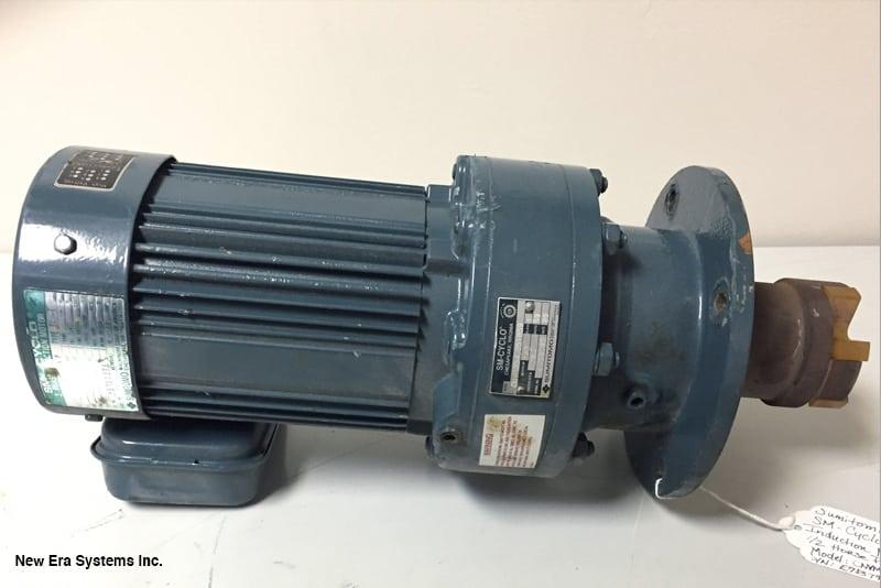 Sumitomo sm cyclo 3 phase induction motor 1 2 hp new era for 1 2 hp induction motor