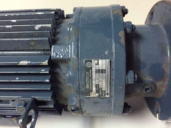 Sumitomo SM-Cyclo 3 Phase Induction Motor 1/2 HP