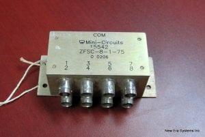Mini Circuits ZFSC-8-1-75 8 Port Splitter