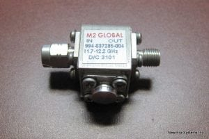 M2 Global 994-037285-004 KU-Band Frequency Isolator