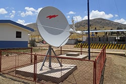 VSAT Site in Peru