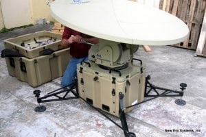 Tracstar Systems AVL 1050 PIB 1.2m Mobile VSAT Systems
