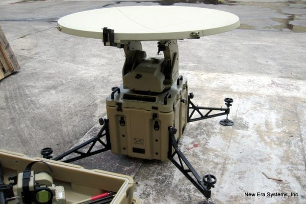 1.2m Mobile VSAT Antenna