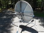 GDSatcom 1.2m FlyAway Antenna
