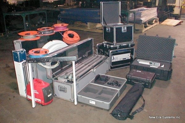 GDSatcom 1.2m Flyaway kit