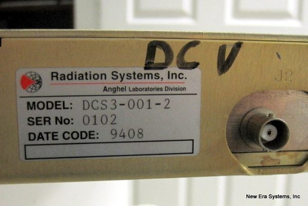 Radiation Systems DCS3 C-Band Down Converter
