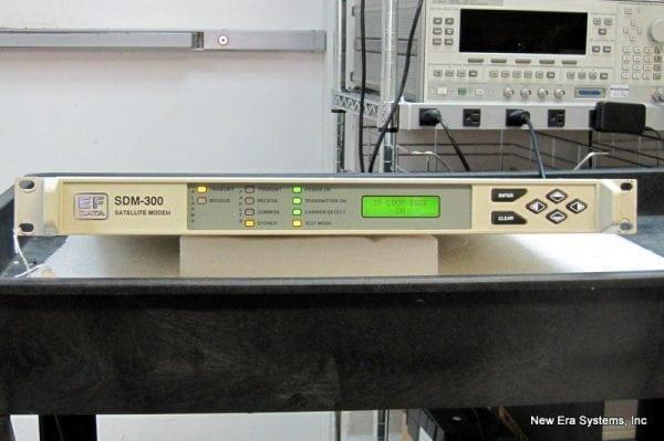 Comtech EFData SDM-300 Satellite Modem