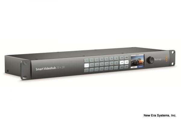Blackmagic Smart Video Hub 20X20