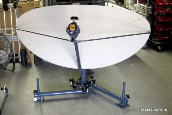 .95 Meter Elliptical Fly Away Antenna