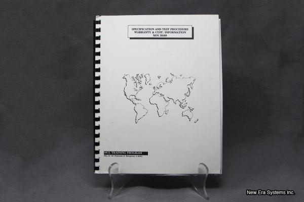 MCL Klystron Amplifier Manual