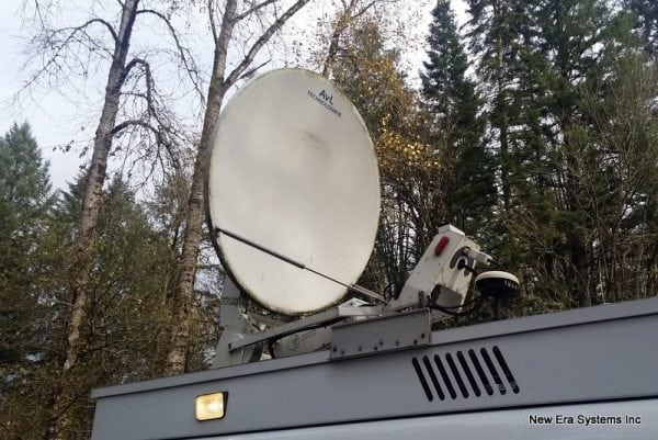 AVL 1200K1210K - RCI SNG Antenna System
