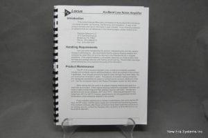 Locus RF-2130 LNA Product Manual