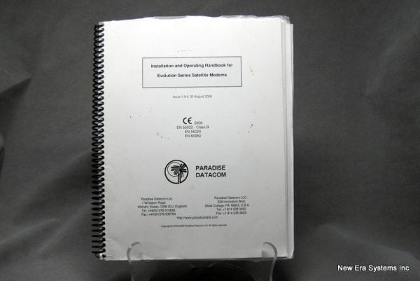 Paradise Datacom Evolution Modem