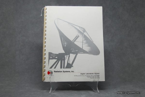 Radiation System Inc C Band Downconverter Manual