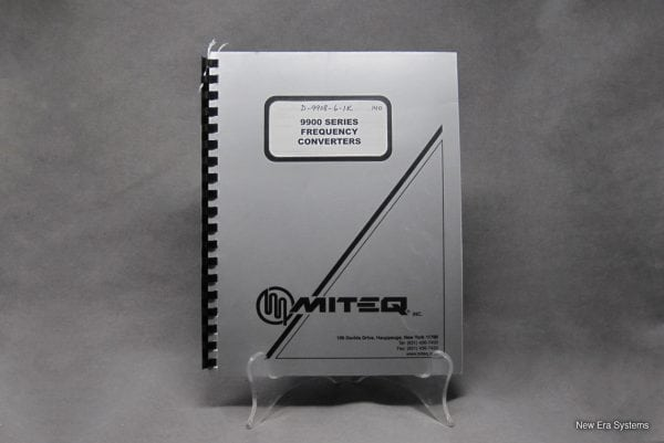 Miteq 9900 Series Frequency Converter Manual