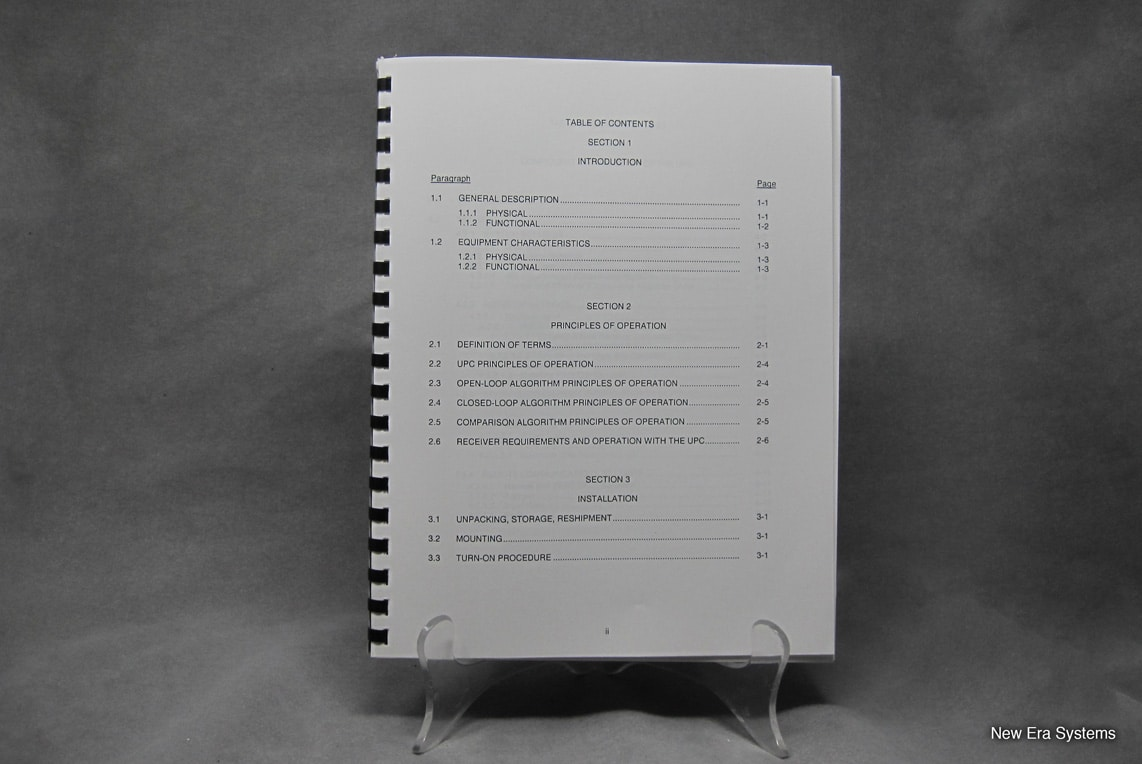 Miteq Uplink Power Control Operation and Maintenance Manual
