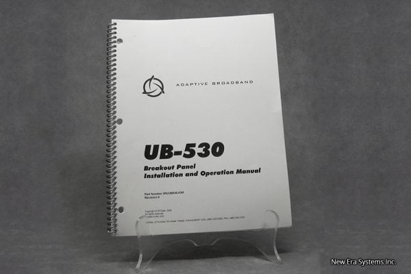 Adaptive Broadband UB-530 Breakout Panel