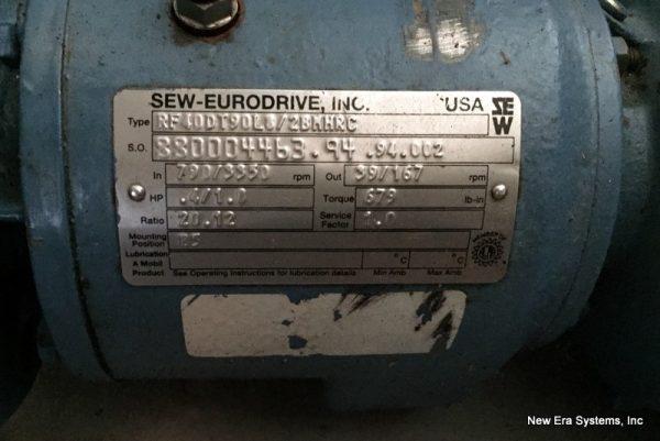 Sew-Eurodrive .5 HP Antenna Motor-
