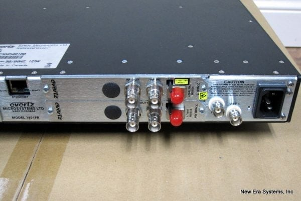 Evertz 7801 L-Band Fiber Communication System