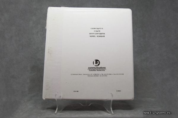C-Band Downconverter Manual