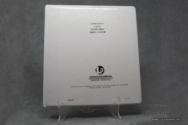 C-Band Up Converter Manual