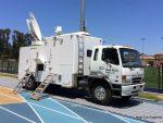Mitsubishi Fuso SNG Broadcast Truck