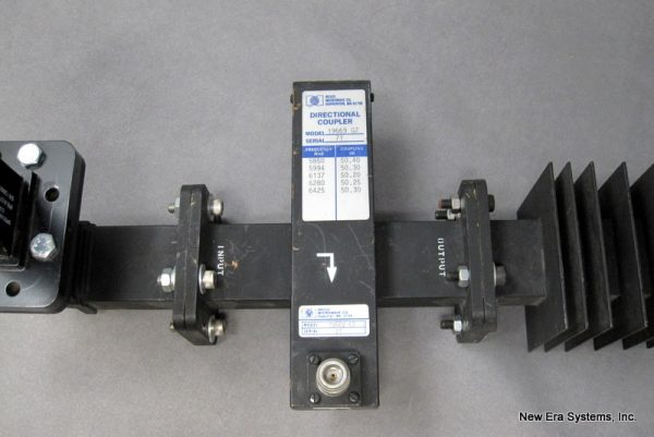 C-Band 300W Dummy Load and Cross Guide Coupler