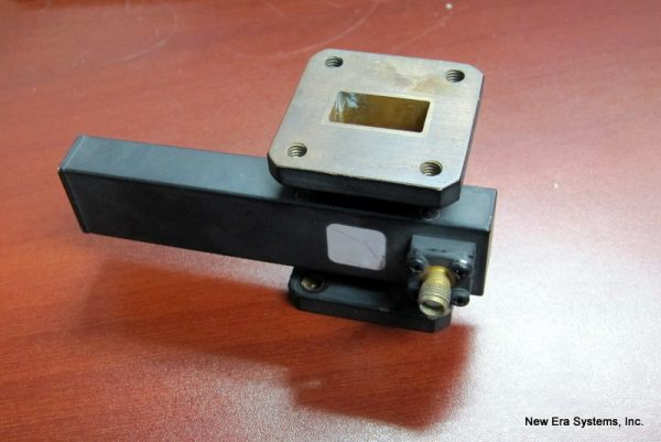 KU-Band cross-guide SMA coupler