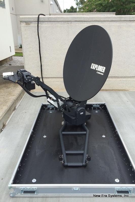 Cobham 8100 Explorer Fly Away Satellite System
