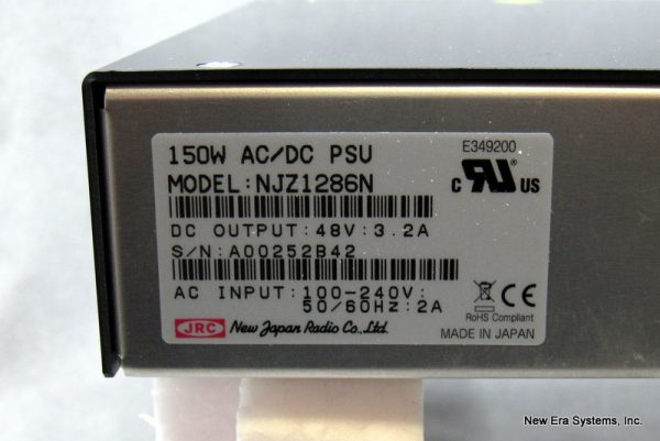 New Japan Radio JRC NJZ1286N 48 VDC Power Supply