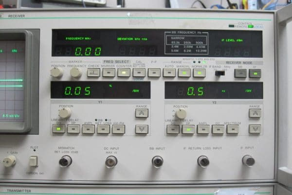 Anritsu ME538M Systems Analyzer
