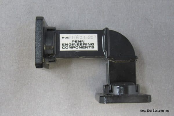 WR75 90 Degree H-Bend Waveguide