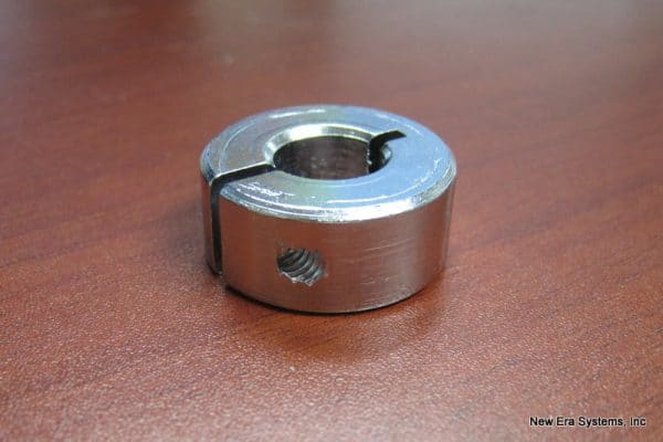 ONE-PIECE SPLIT CLAMP-TYPE SHAFT COLLAR